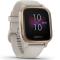 Ceas smartwatch Garmin Venu Sq Music Edition Light Sand/Rose Gold