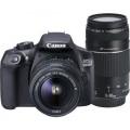 Camera foto Canon Dublu kit EOS-1300D + EFS18-55 + EF 75-300 18MP