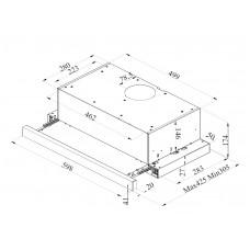 Pachet Pyramis BASIS INOX cuptor electric + plita gaz + hota telescopica