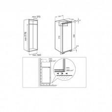 Frigider incorporabil ventilat RF1780