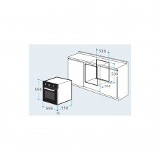 Pachet Pyramis Pyreco Comfort cuptor electric+plita