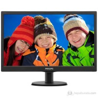 Monitor LED Philips  193V5LSB2/62 Hd Ready  Black