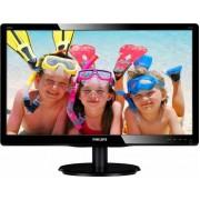 Monitor LED Philips 200V4LAB2/00 HD Black