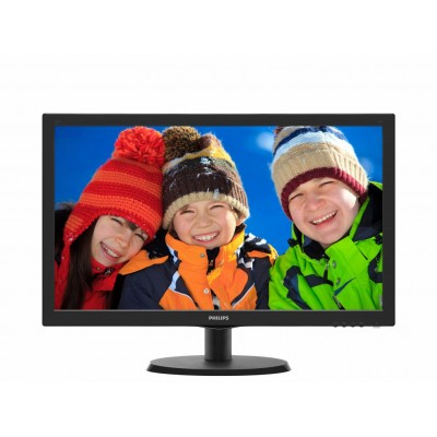 Monitor LED Philips 223V5LHSB FULL HD Black