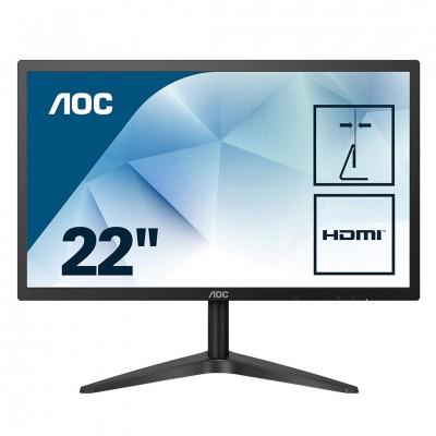 Monitor LED AOC 22B1HS FHD Black