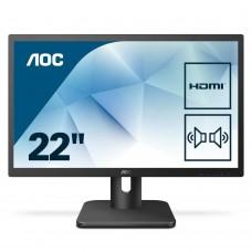 Monitor LED AOC 22E1D FHD Black