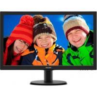 Monitor LED Philips 243V5LHAB/00 Wide Full Hd Negru
