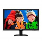 Monitor LED Philips 243V5LHSB Full HD Black
