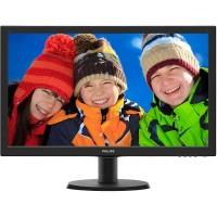 Monitor LED Philips 243V5QSBA FULL HD Black
