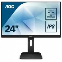Monitor LED AOC 24P1 FHD Black