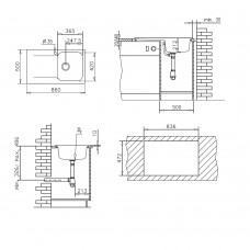 Set Pyramis chiuveta soft compozit Level Durothek 1B 1D DR Bej + Baterie