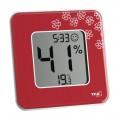 Termometru si Higrometru digital de camera TFA STYLE RED 30.5021.05
