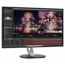 Monitor Philips 328P6VUBREB cu statie de andocare USB-C
