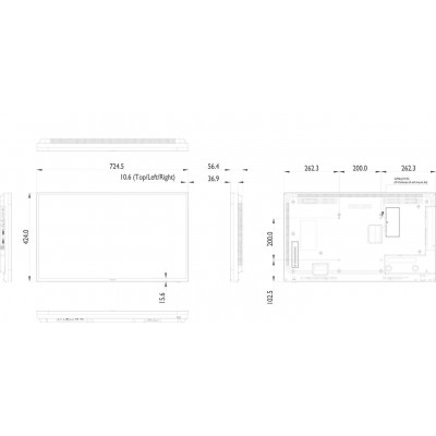 Monitor LFD Philips 32BDL4050D/00 Full HD Black