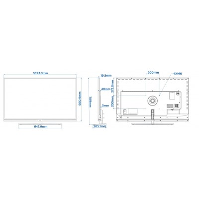 MONITOR LED SMART PHILIPS SIGNATURE 49HFL7011T/12 4K UHD