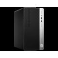 Desktop HP ProDesk 400 G6 Microtower Intel Core i3-9100 Quad Core Win 10