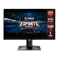 Monitor Gaming MSI Optix MAG251RX FHD
