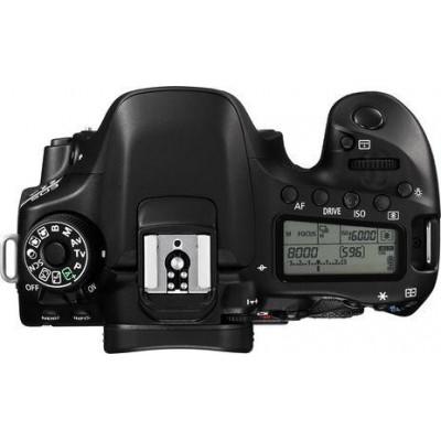 Camera foto Canon EOS-80D BODY Wifi Black 24Mp