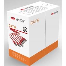 Cablu UTP categoria 6 Hikvision DS-1LN6-UE-W 305m