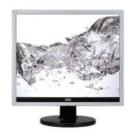 Monitor LED Aoc E719SDA Silver Black