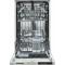 Masina de spalat vase incorporabila Heinner HDW-BI4505A++ 10 seturi