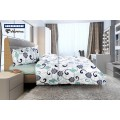 Lenjerie de pat Heinner King size ROYAL HR-4KGBED144-RLY 4 piese 100% bumbac