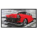 Tablou cu ceas inramat Heinner HR-F715-50/100 Red Chevy