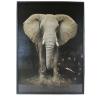 Tablou cu ceas inramat Heinner HR-FA911-70/100 Elefant