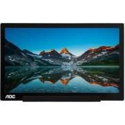 Monitor portabil LED AOC I1601FWUX FHD Negru