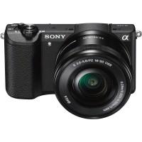 Camera foto Sony A5100 Black + obiectiv SEL 16-50mm 24 Mp