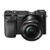 Camera foto Sony A6000 Black + obiectiv SEL 16-50mm 24.3 MP