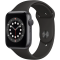 Smartwatch Apple Watch 6 Black Sport Band