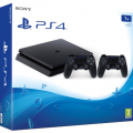 Consola Sony PlayStation 4 Slim 1Tb SO-9893653 Chassis Black + Extracontroller