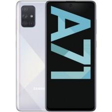 Telefon Mobil Samsung Galaxy A71 Dual Sim 128GB Argintiu