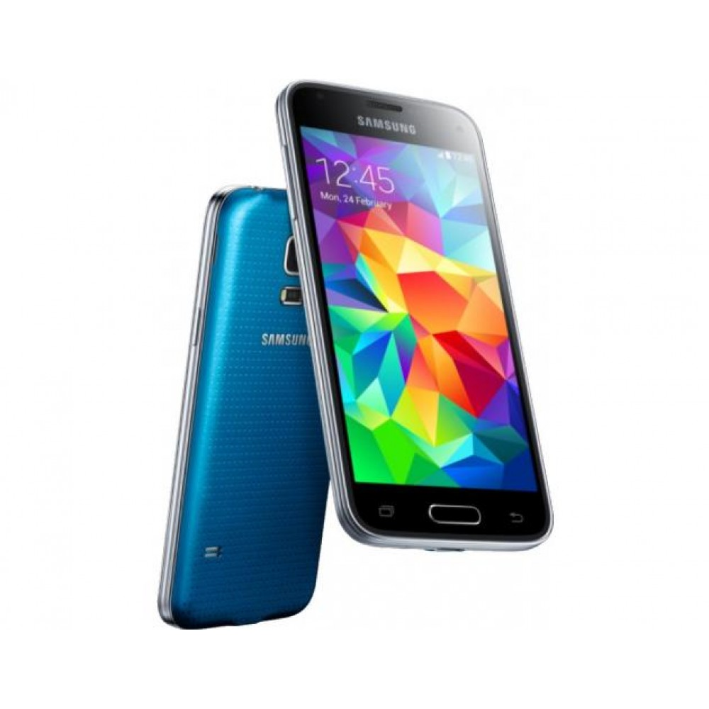 telefon mobil samsung galaxy s5 mini g800f 16gb lte electric blue. Black Bedroom Furniture Sets. Home Design Ideas