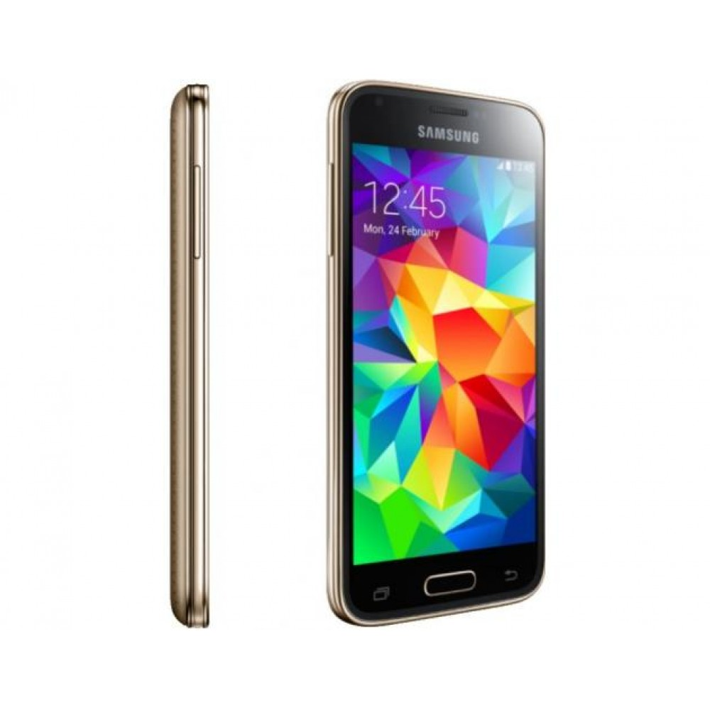 telefon mobil samsung galaxy s5 mini g800f 16gb lte cooper gold. Black Bedroom Furniture Sets. Home Design Ideas