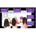 "Sistem portabil interactiv IQBoard Touchmate-U cu diagonala pana la 102"""