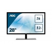 Monitor LED AOC U2879VF 4K UHD Negru
