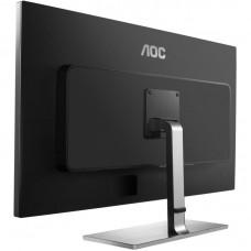 Monitor LED AOC U3277FWQ 4K UHD Negru + Argintiu