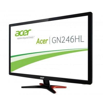 Monitor LED Acer GN246HLBBID Full Hd Negru