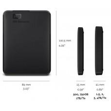 HDD Extern Western Digital Elements Portable 4TB 2.5inchi Negru