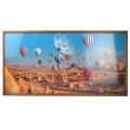 Tablou cu ceas inramat Heinner HR-F732-50/100 Baloons