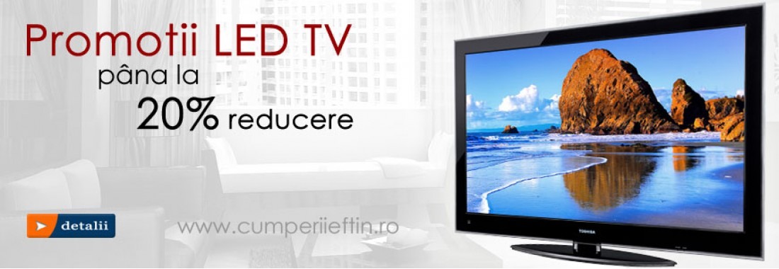 Promotii led tv si smart tv